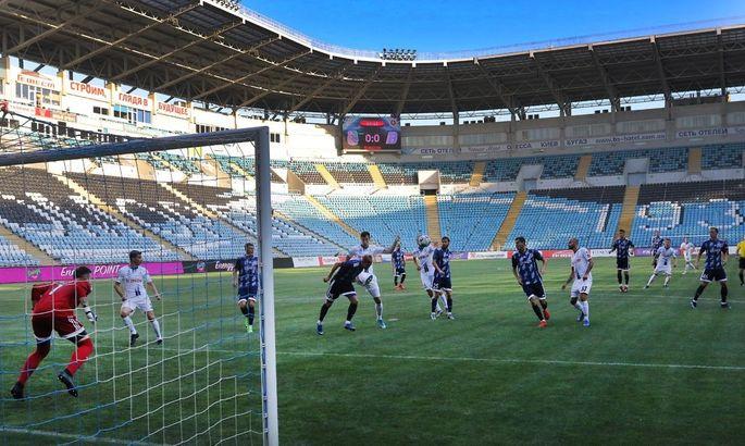 Черноморец - Балканы 2:2. Обзор матча, видео голов
