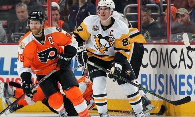 НХЛ. Філадельфія обіграла Піттсбург, успіхи Торонто і Едмонтона