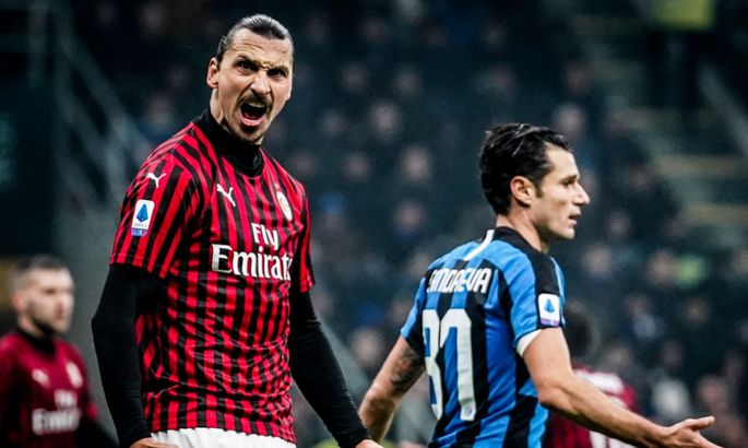 Ибрагимович - первый игрок, который забил 50 голов за Милан и Интер