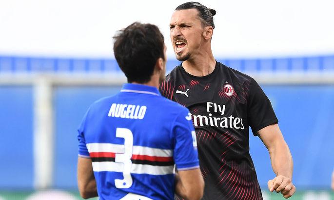 Златан забивает и ассистирует. Сампдория – Милан 1:4. Обзор матча и видео голов