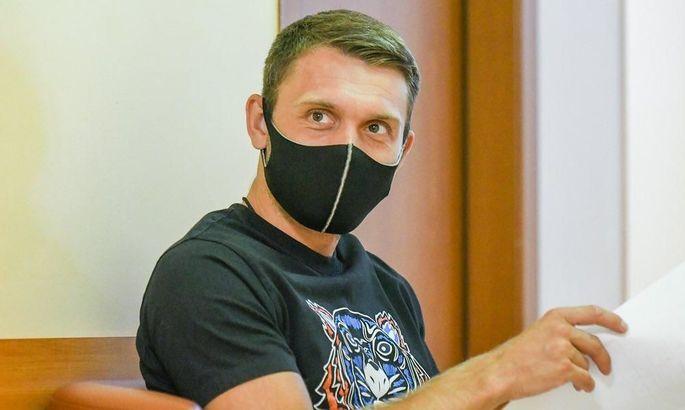 Караваев: Сегодня была первая тренировка, на которой команда познакомилась с новым тренером