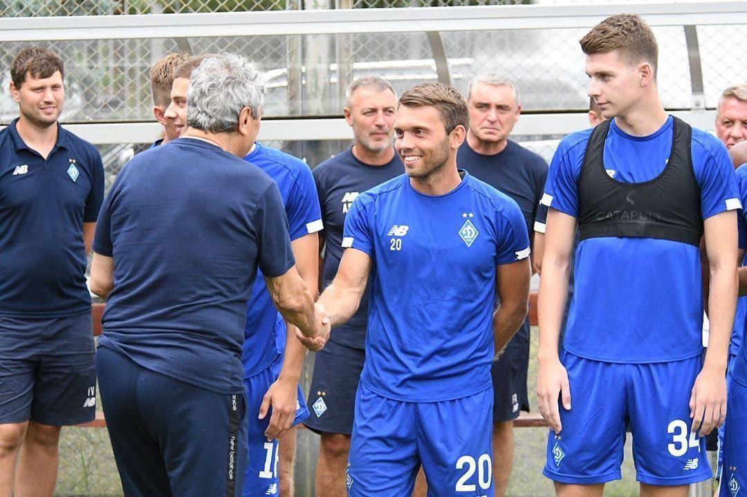 Луческу провел первую тренировку в Динамо - ФОТО, ВИДЕО - изображение 7