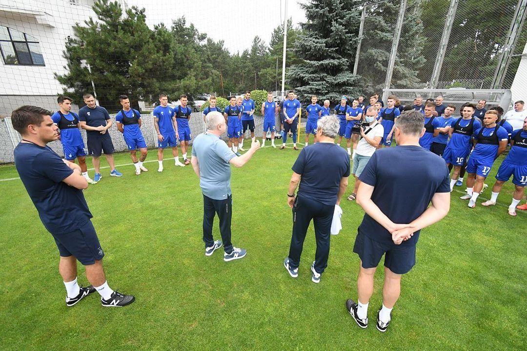 Луческу провел первую тренировку в Динамо - ФОТО, ВИДЕО - изображение 3