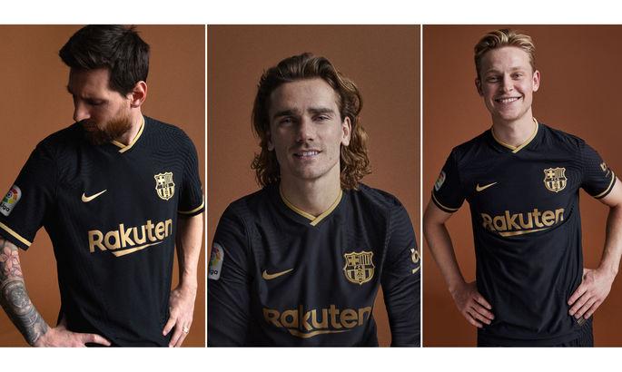 Чорний – хіт сезону: Барселона представила нову виїзну форму на наступний сезон
