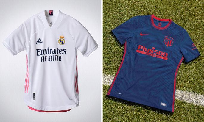 Мадридське оновлення: Реал та Атлетіко представили нові екіпіровки на сезон-2020/21