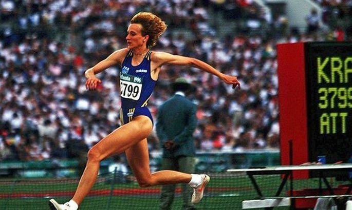 24 года назад Инесса Кравец стала олимпийской чемпионкой. ВИДЕО