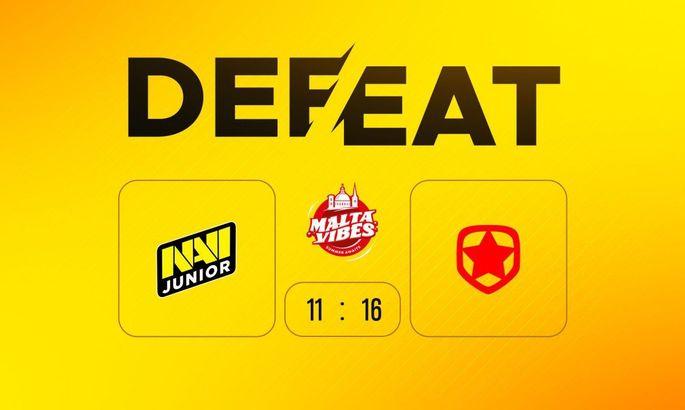 NaVi Junior проиграли Gambit Youngsters в рамках Malta Vibes 5