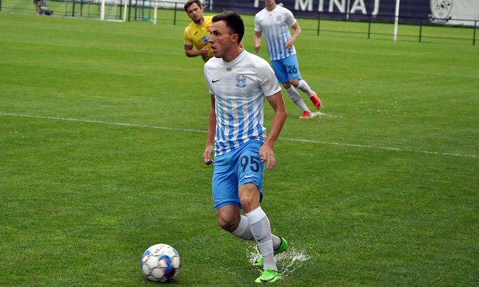 Защитник Миная Петр Стасюк – лучший игрок Первой лиги в июле