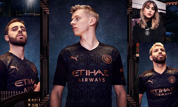 Зинченко in black: Манчестер Сити презентовал новую выездную форму на сезон-2020/21