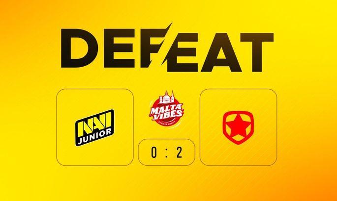 NaVi Junior програли в гранд-фіналі Malta Vibes 5