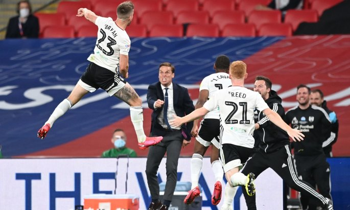 Championship, final. Fulham qualified for the Premier League ...
