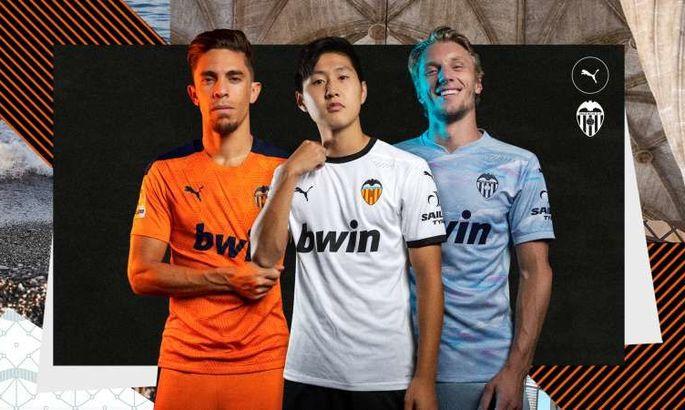 Валенсия представила все три комплекта экипировки на сезон-2020/21