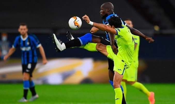 Лига Европы. Лукаку и Эриксен определяют разрыв между Интером и Хетафе