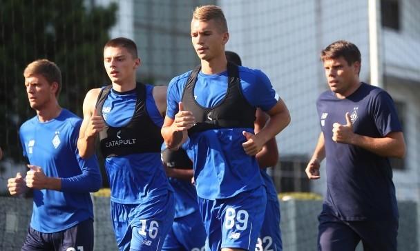 Динамо продолжает подготовку к сезону - Попов работает с ограничениями
