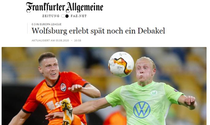 Шахтар винагородив себе за чудову гру. Огляд німецьких ЗМІ про матч Шахтар - Вольфсбург