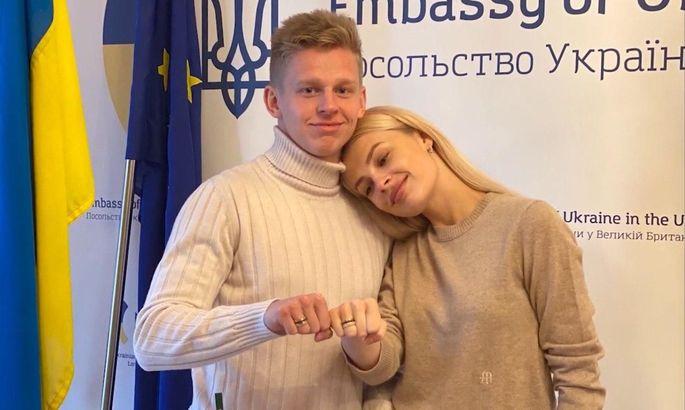 """""""Соррі, Зінченко більше не холостяк."""" Влада Седан розповіла, що стала дружиною гравця Ман Сіті - изображение 1"""