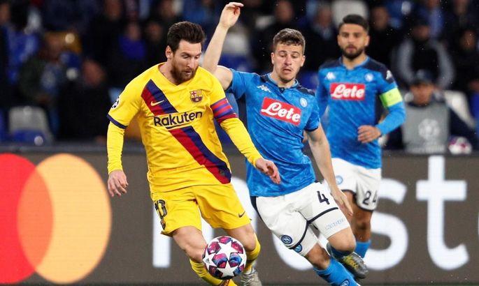 Барселона - Наполі: де і коли дивитися матч Ліги чемпіонів