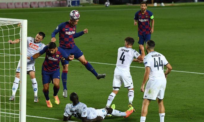 Было ли нарушение? Как Барселона открыла счет в матче с Наполи