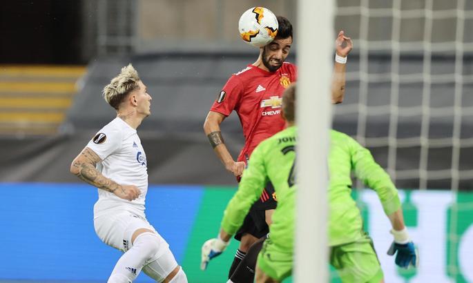 ЛЕ. Манчестер Юнайтед - Копенгаген 1:0. На жилах вырванная путевка в полуфинал