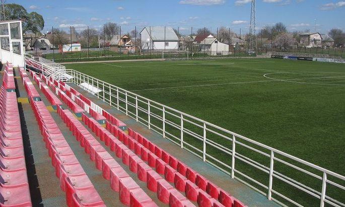Стадіон на Черкащині реконструюють для вимог Першої ліги й УПЛ