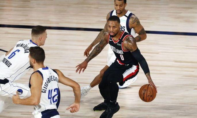 НБА. Портленд вырвал победу у Далласа, Финикс выиграл 7-й матч подряд
