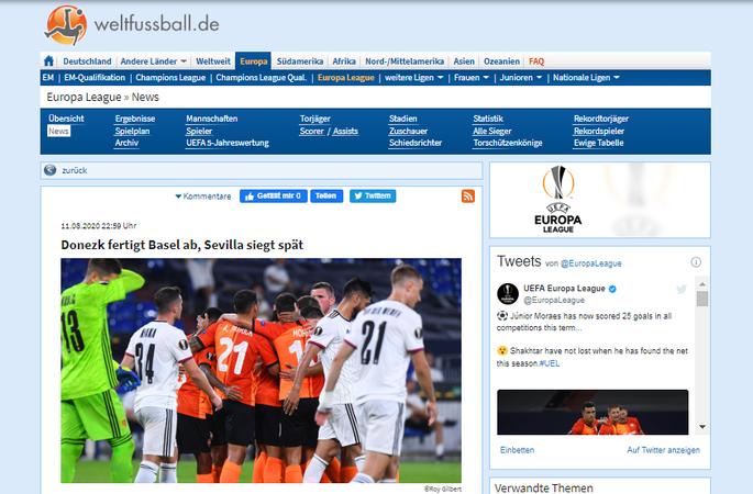 Шахтер не по зубам Базелю. Обзор швейцарских СМИ после матча Лиги Европы - изображение 4