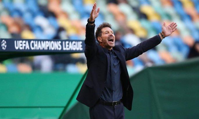 Диего Симеоне: Атлетико заслуженно вылетает из Лиги Чемпионов