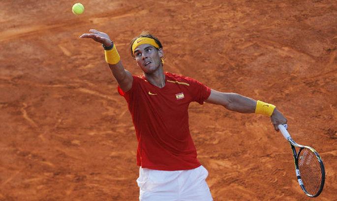 Надаль легко справился с оппонентом и вышел во второй круг турнира в Риме