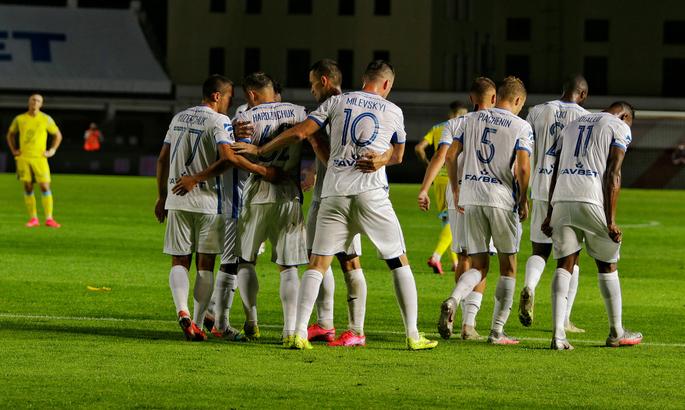 Милевский и компания продолжают путь в квалификации ЛЧ. Динамо Брест - Сараево 2:1