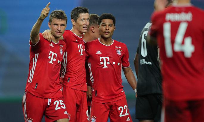 Бавария забила четыре гола за 8 минут в матче против Байера