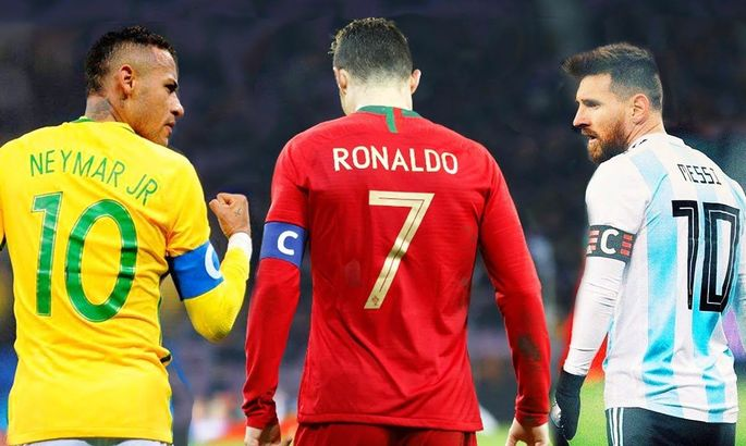 Агент Неймара: Бразилец превосходит Месси и Роналду технически и физически
