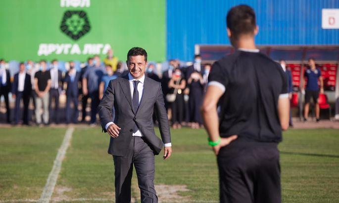 У Зеленского объяснили задержку матча Кривбасс - Черкащина важным разговором с госсекретарем США