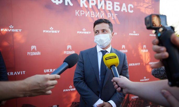 Артем Гагарин: Зеленский очень переживает и за Кривбасс, и за Черноморец, Карпаты и Металл