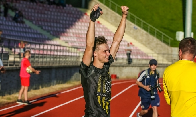 Юрий Климчук - лучший игрок сезона в Первой лиге