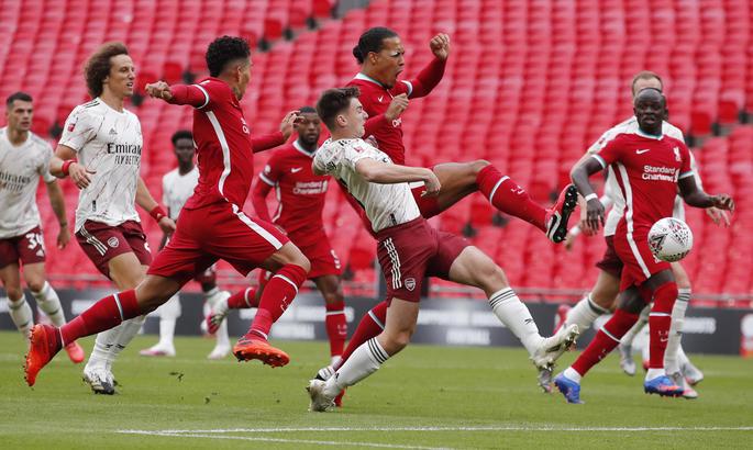 Арсенал - Ливерпуль 1:1 (пен. 5:4). Полуголый король
