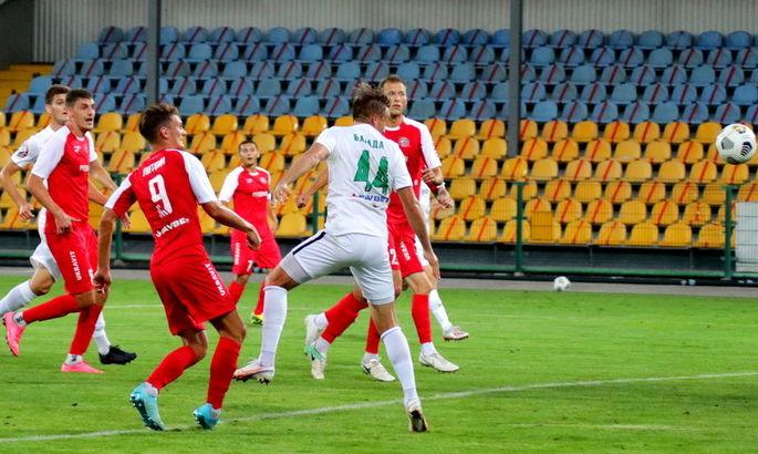 Александрия сделала камбэк в матче с Кривбассом