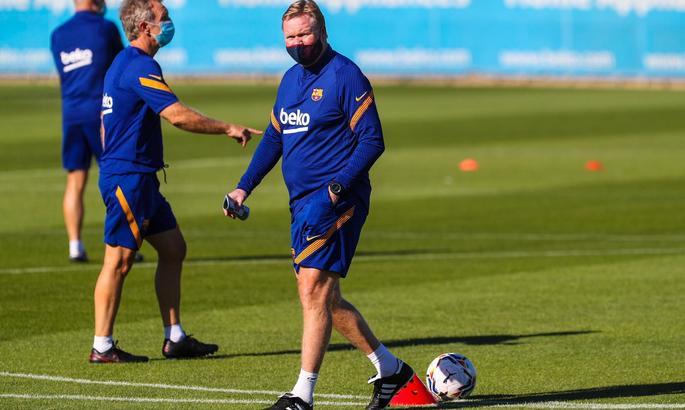 Барселона провела перше тренування з Куманом. Прес-служба не згадала про відсутність Мессі