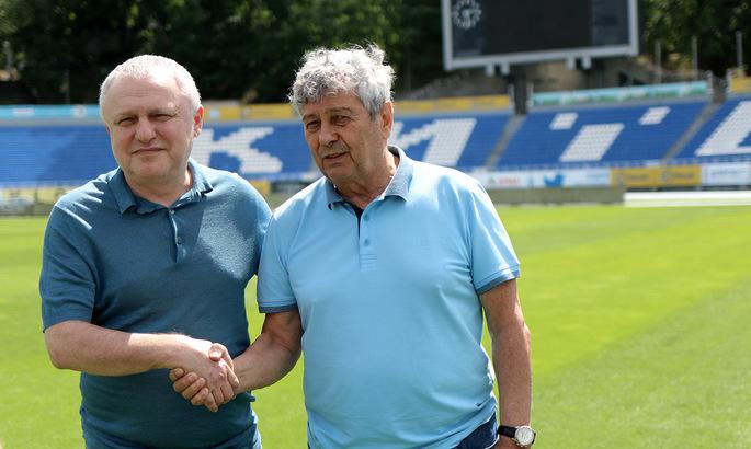 Игорь Суркис: У Луческу еще нет основного состава. Он живет на базе и знакомится с игроками