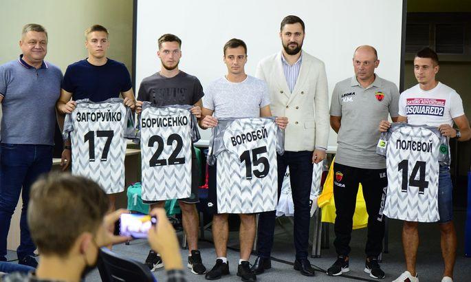 Металлург подписал Полевого и еще трех игроков