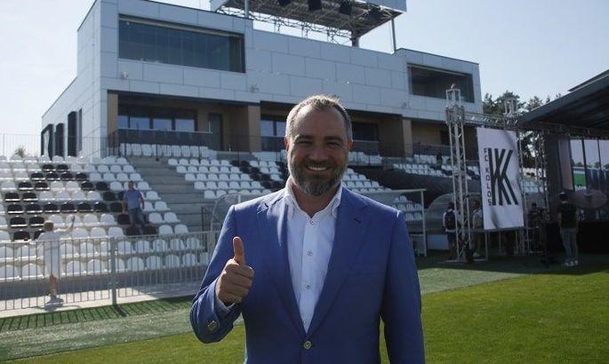 Павелко обещает на новом стадионе Колоса матчи различных сборных Украины