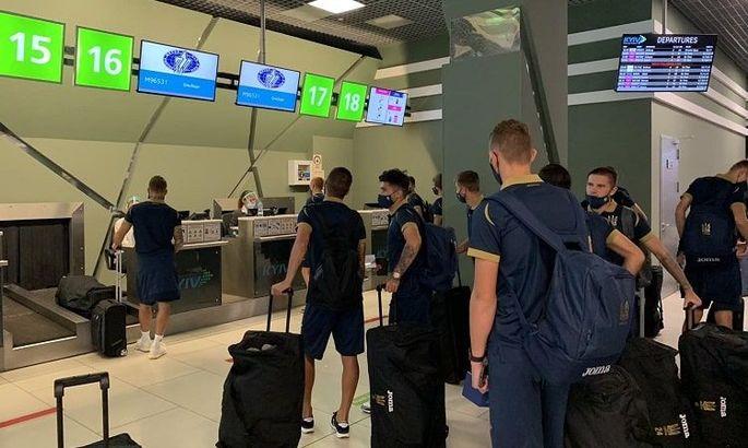 С двумя нападающими. Молодежная сборная Украины отправилась в Скандинавию