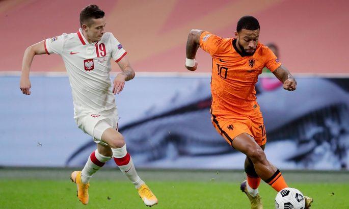 Лига Наций. Нидерланды - Польша 1:0. Вымучили