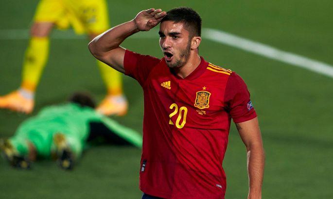 Сборная Украины проиграла Испании пятый раз подряд