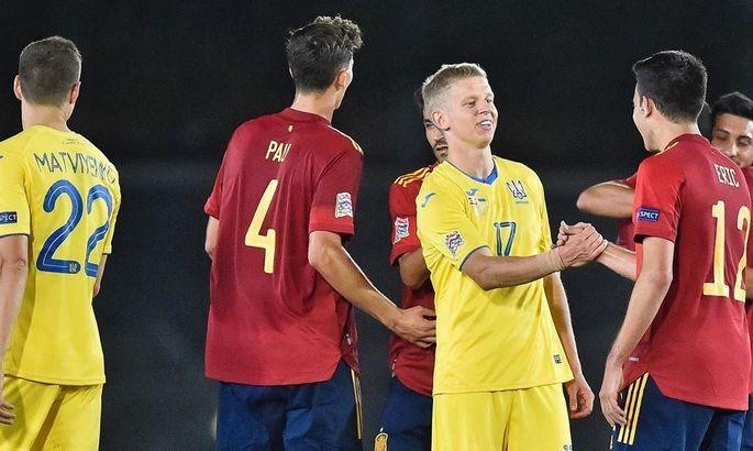 Насколько хорошо вы помните матчи между Украиной и Испанией?