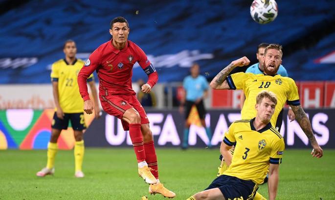 Кріштіану могутній. Швеція - Португалія 0:2. Відео голів та огляд матчу