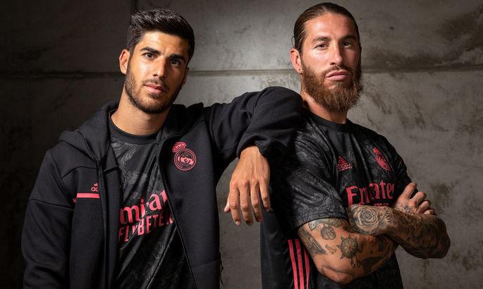 Black & Pink: мадридский Реал презентовал резервный комплект формы на следующий сезон