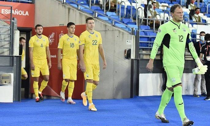 Кривцов убежден, что в матче с Испанией Украина не продемонстрировала своего уровня