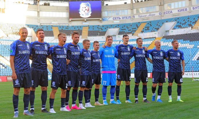 Черноморец представил новую форму на сезон