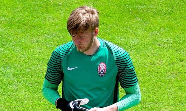Вратарь Зари Хмеловский перешел в запорожский Металлург