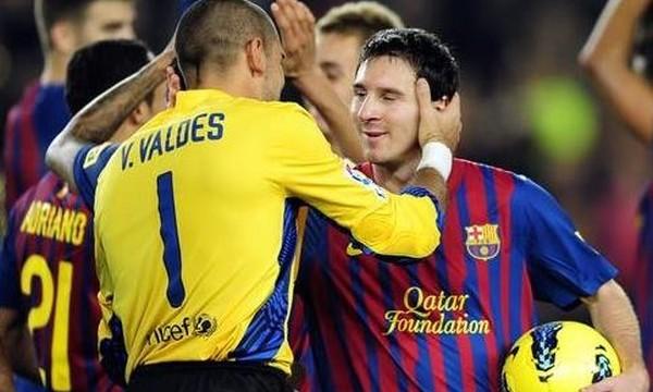 Вальдес: Я очень рад, что Барселона смогла сохранить Месси
